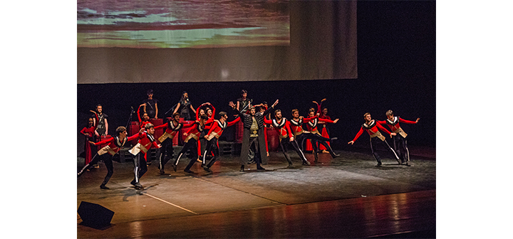 Գէորգ Էմինի  «Սասունցիներու պարը» բեմադրուեցաւ