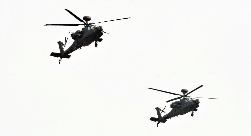 TSK'ya ait helikopterler Ermenistan hava sahasında