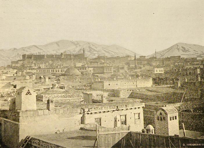 19. yüzyıl sonlarında Erzurum
