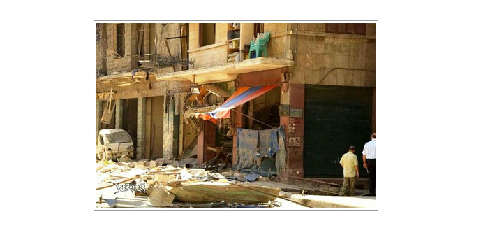 Halep kuyumcular çarşısında patlama
