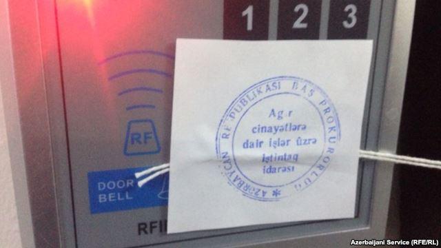 Azerbaycan'da radyo baskını