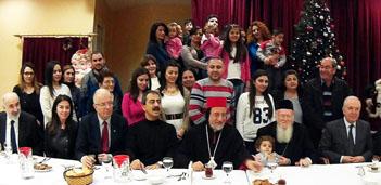 Ekümenik Patrik'ten Suriyeli sığınmacılara yılbaşı ziyareti