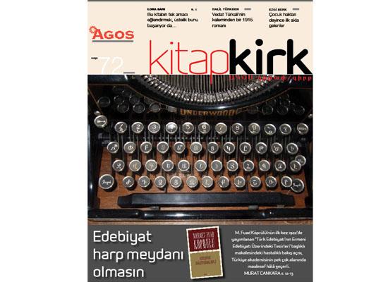 KİTAP / ԳԻՐՔ Kasım 2014: Edebiyat harp meydanı olmasın