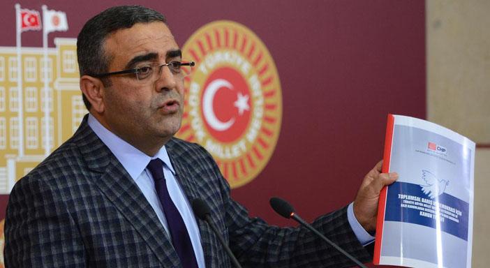 CHP'den toplumsal barış için 70 maddelik teklif