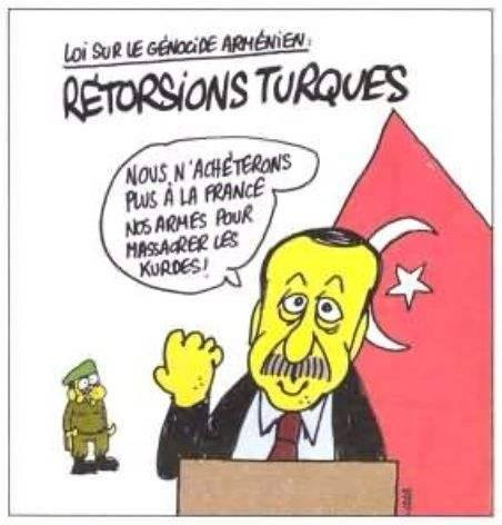 Turkey from Charlie Hebdo's viewpoint
