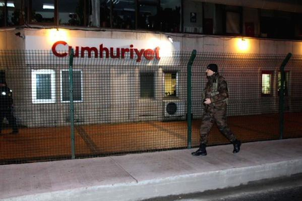 Cumhuriyet: First searched, then protected