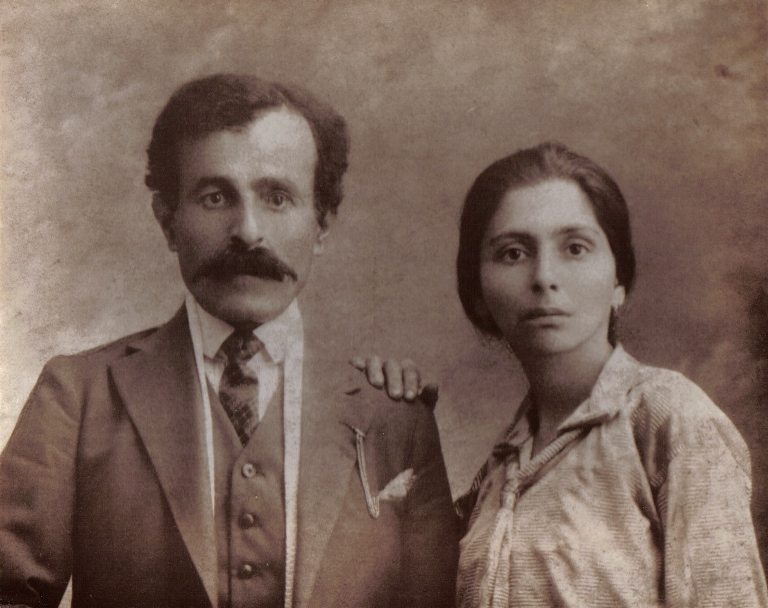 Onnik Dinkjian'ın anne ve babası Garabet ve Zora Milliyan.