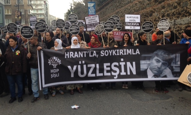 HDP rally for Hrant Dink