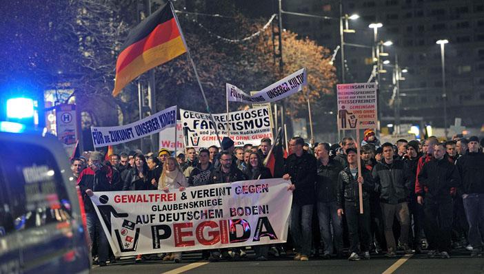 PEGİDA hareketi göç ve islam tartışmalarını alevlendirdi