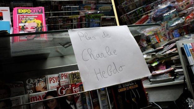 Test of world press with new Charlie Hebdo cover
