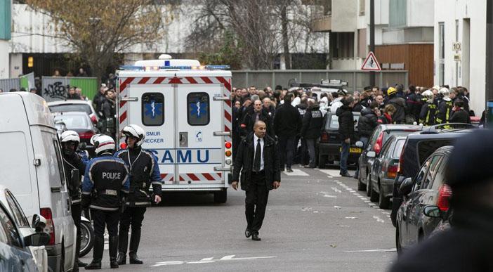 Charlie Hebdo'ya saldırı: 12 Ölü, 11 Yaralı