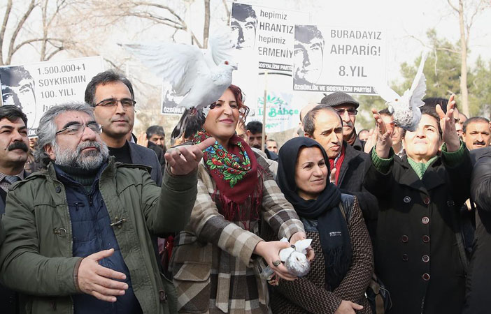 Hrant Dink Türkiye'de anıldı