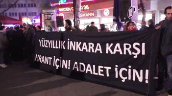 Hrant Dink Berlin'de anıldı
