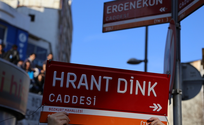 Hrant Dink's name to be given to a street in his neighbourhood
