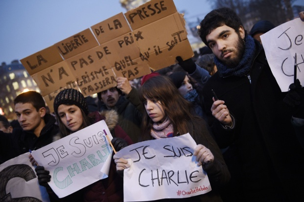 "Displays of solidarity across the world: ""We are all Charlie"""