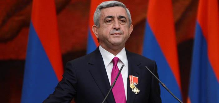 Sarkisyan'dan Holokost kurbanlarını anma günü mesajı