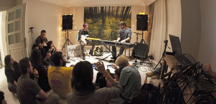 Evinizi müzisyenlere açın