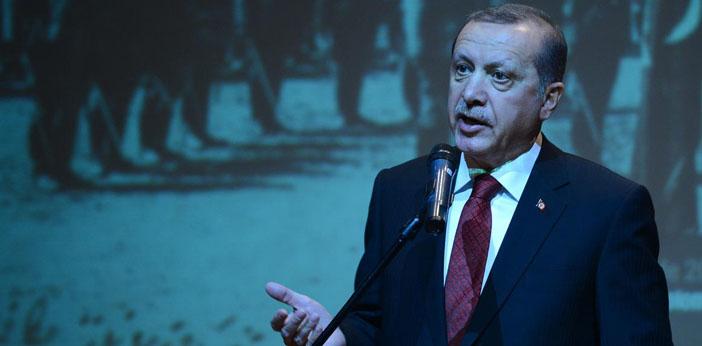 Erdoğan Diaspora'ya yüklendi: 1915'le ilgili elimiz hep havada kaldı