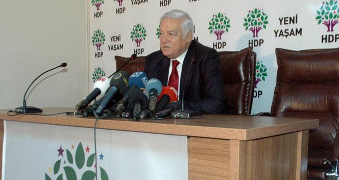 Dengir Mir Fırat da HDP'den resmen aday adayı