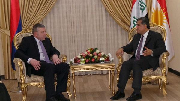 Ermenistan, Erbil'de konsolosluk açıyor