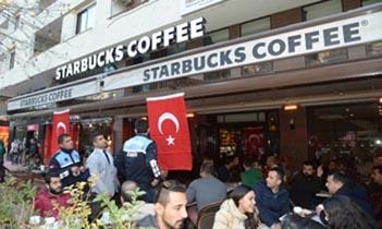 MHP'li Belediye Başkanından Starbucks'a 'bayrak operasyonu'