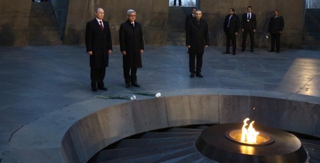 Putin 24 Nisan'da Yerevan'da olacak