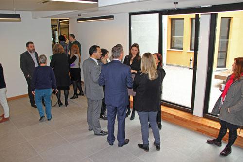 Agos'un ve Hrant Dink Vakfı'nın yeni binası basın mensuplarına tanıtıldı.