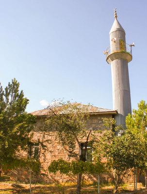 1975'te camiye çevrilen Pokr Armıdan'daki kilise.