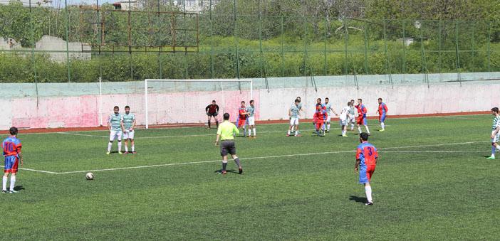 Yeşilköy ve Sahakyan takımları pazartesi sahada