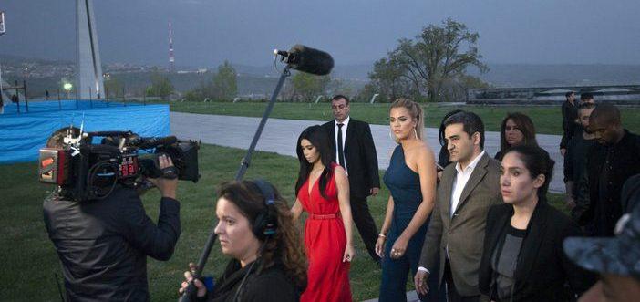 Ermenistan'dan Kardashianlar geçti