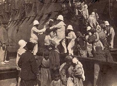 Musa Dağlılar Port Said yolunda