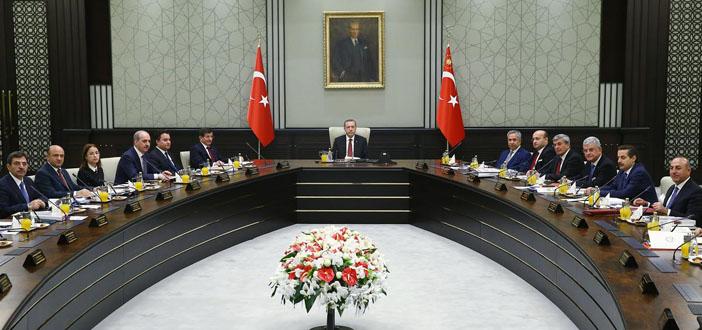'Ak-Saray'daki ikinci Bakanlar Kurulu başladı