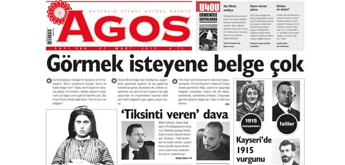 Agos'a Metin Göktepe jüri özel ödülü