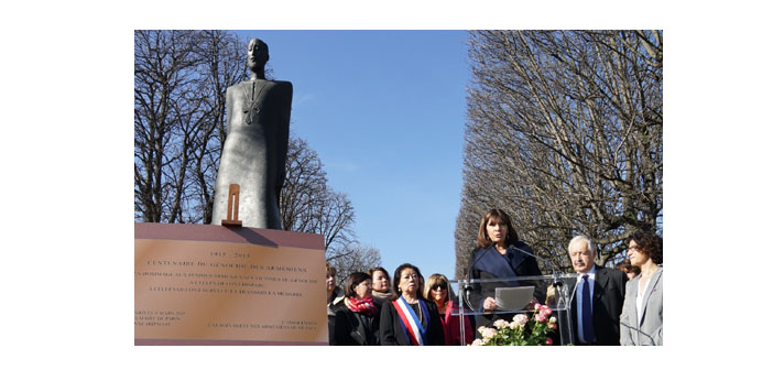 Paris Unveils Memorial for Women Victims of the Genocide
