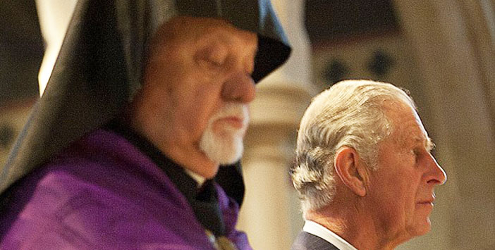 Irak Ermeni Kilisesi Başepiskoposu'ndan Prens Charles'a 24 Nisan mektubu