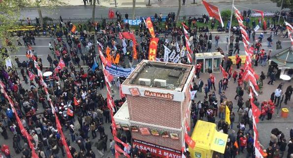 Kitle örgütleri Beşiktaş'ta
