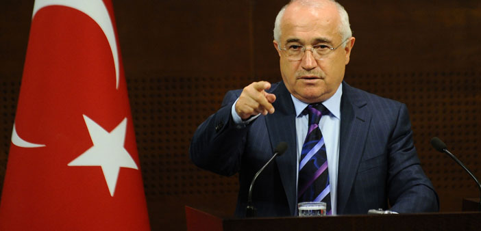 Pope is 'slanderer', says Speaker of the Parliament Çiçek