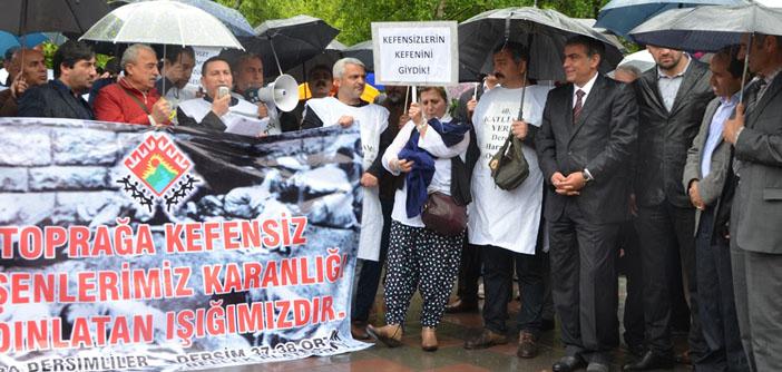 Ankara Dersimliler Derneği'nden katliamın yıldönümünde meclis eylemi