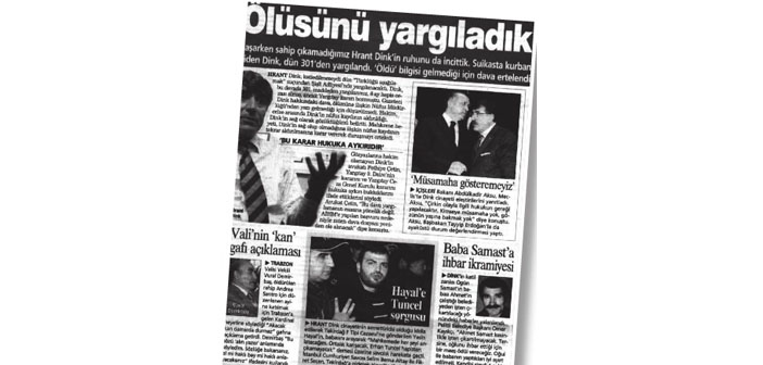 Hrant Dink'i hedef göstermek için 'soykırım' sözü nasıl kullanıldı?