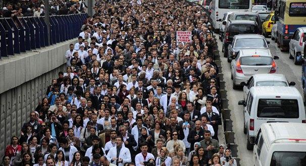 Sağlık emekçileri için grev günü