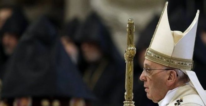 Pope: Armenian Genocide was first genocide of the 20th century