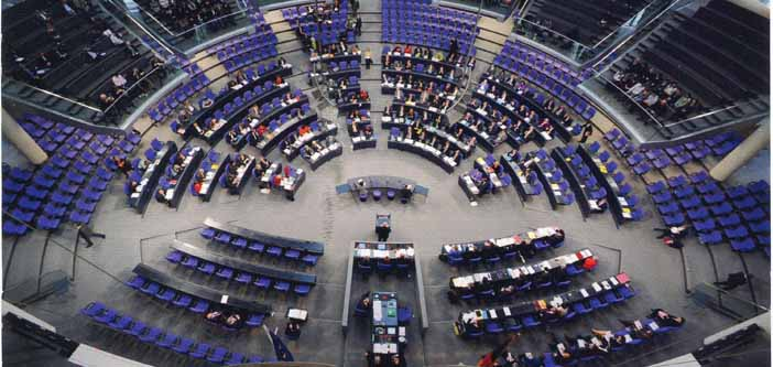 Almanya Parlamentosu'ndaki görüşmeden de Soykırım kararı çıktı