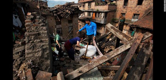 BM: Nepal depremi 8 milyon kişiyi etkiledi