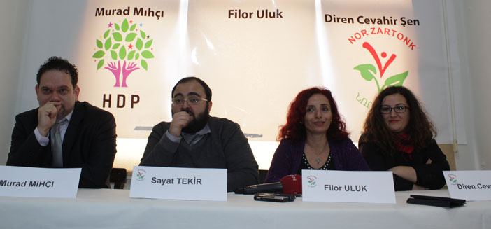 Nor Zartonk aday adaylarını tanıttı