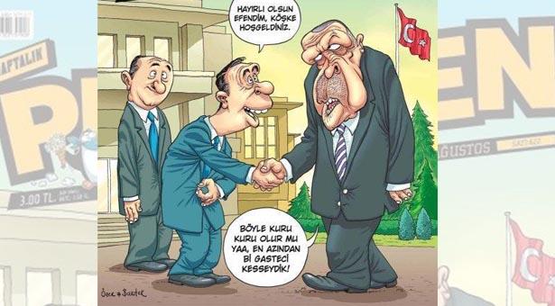 Penguen çizerlerine 'Erdoğan'a hakaretten' ceza