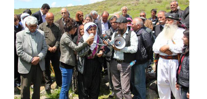 """Tertele"", the Dersim Massacre, commemorated at Seka Sure mass grave"