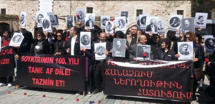 İstanbul'da 24 Nisan anılıyor