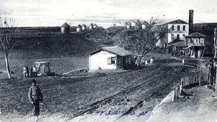 Tekirdağ Çarşı yolu ve Ermeni değirmenleri