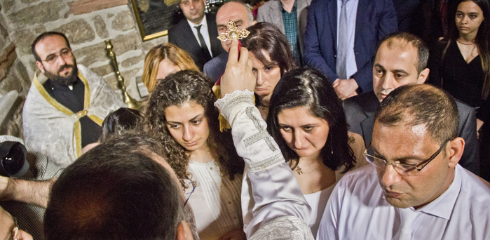 12 Dersim Armenians baptized to complete return to their identity