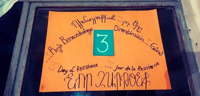 Kamp Armen nöbetinde 3. gün